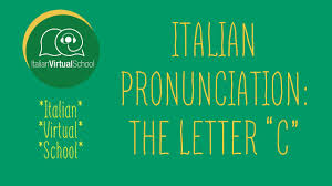 That is, with only a few exceptions a single letter or cluster of letters represents the same sound, and each sound occurring in the language has only a single written representation. Italian Pronunciation For The Letters C And G Learn Italian Online
