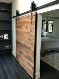 large wooden sliding doors barn wood door frame glass with incre