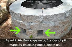 easy diy inexpensive firepit for