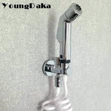 bathtub faucet with sprayer bathtubs abs material chrome finish toilet bidet bathroom shower spray set hose bathtub faucet with sprayer
