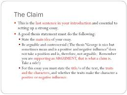 character traits a literary analysis ppt  5 the