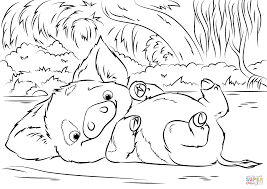 Baby Moana Coloring Pages Printable Baby Printable Coloring Pages