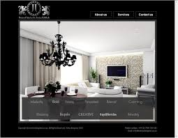 minimalist website for interior design ideas with attractive