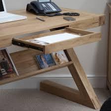 Opus Bedroom Furniture Opus Solid Oak Z Shape Computer Desk Oak Furniture Uk