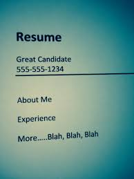 The Five Minute Resume Updatetami Cannizzaro