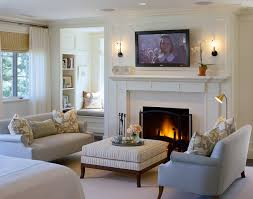 inspiration for a timeless bedroom remodel in boston with a standard fireplace and a tile fireplace