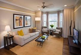 Contemporary Yellow And Gray Living RoomContemporary Living Room Colors