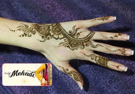 Simple Mehndi Design Arabian Makedes Com