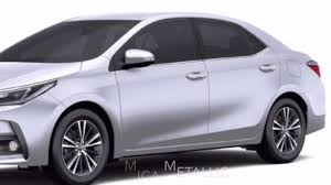 Toyota Corolla Altis 2017 Colors (Colours) in India. - YouTube