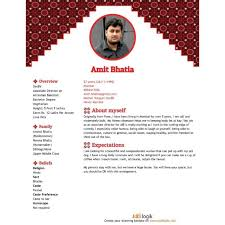 Bio Data Latest Format Biodata Format For Marriage 15 Templates 7 Samples