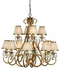 pendant light antique brass finish lead crystal beads traditional pendant lighting by happy homewares limited