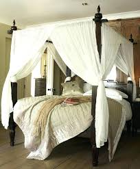 Queen Bed Canopy Cover Our Canopy Bed Queen Size Bed Canopy Cover ...