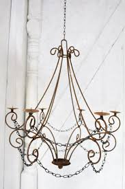 wrought iron candle chandelier lighting master double throughout plan 17