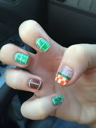 Tennessee Football Nail Designs University Of Tennessee Nail 9 03 15 Tennessee Nails