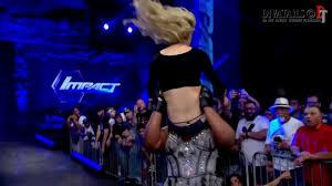 Taryn Terrell TNA ass crack G String Thong slips Brooke.