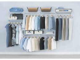 learn to love your closet big or small minimalist closet wall hanging system
