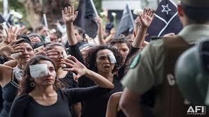 Resultado de imagen para chile represion a mujeres