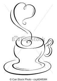 tea cup heart clip art. Wonderful Art Hot Cup  Csp6048384 To Tea Cup Heart Clip Art E