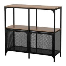ikea industrial furniture. fjllbo shelf unit black width 39 38 ikea industrial furniture k