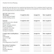 School Supplies List Template School Checklist Template