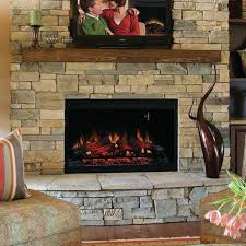 36 built in wall mount electric fireplace insert