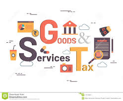 Gst For Design Services Good Service Tax Gst Concept Stock Illustration