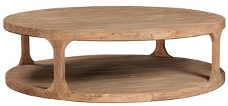 big round reclaimed wood coffee table 2 sizes add