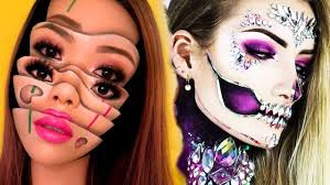11 scary halloween makeup tutorials for s 2018