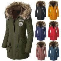 XS-<b>3XL Fashion</b> Warm Coats Women Jackets Warm Outwear Solid ...