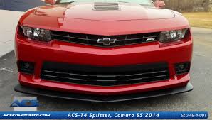 ACS T4 Front Splitter- 2014-2015 Chevy Camaro (SS ONLY)