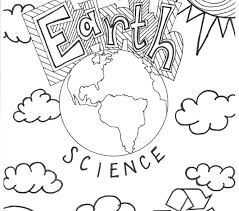 Awe Inspiring Earth Science Coloring Pages Free Printable Gazda