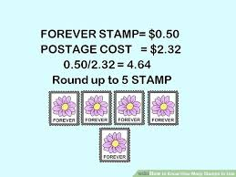 How To Know How Many Stamps To Use 11 Steps With Pictures
