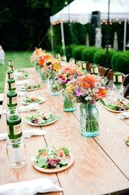 Rectangle Tables Wedding Reception Wedding Reception Flower Arrangements Bastinformayor Com
