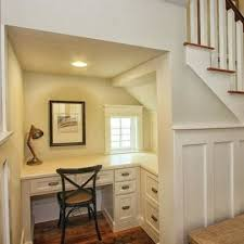 office under stairs. Desk Under Stairs Home Design Ideas, Pictures, Remodel And Decor Within Office T