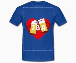 Jga Shirts Jga T Shirts Für Frauen Männer Gestalten Teamshirts