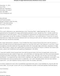 Cover Letter For Senior Administrative Assistant Administrative