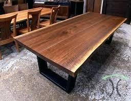 solid walnut dining tables solid walnut dining table solid hardwood live edge dining tables tables desk solid walnut dining tables