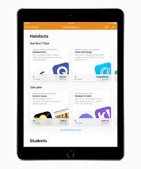 Apples Free Schoolwork App Now Available For Teachers Apple
