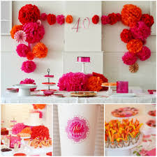 40th Birthday Decorations For Her 40th Birthday Party Idea