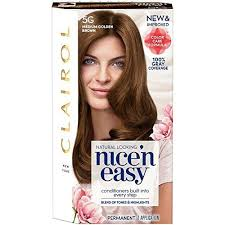 Semi Permanent Hair Dye Colour Chart Clairol Nicen Easy Original 5g Medium Brown Pack Of 3