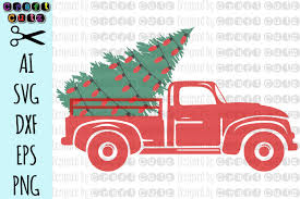 Youll have the option to download a svg, dxf, png or a jpg file. 36 Christmas Tree And Pickup Truck Lovesvg Com 12 Christmas Tree In Truck Svg Gif