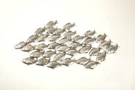 fish wall art wall art ideas design sculptures schools fish metal wall metal fish wall art sculptures fish shoal wall art uk