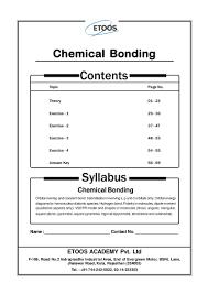 Assignment Chemical Bonding_jh_sir 4163