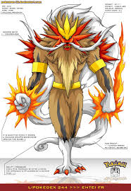 Entei Evolution Chart Pokemon Pokemon Fusion Art Pokemon Pokemon Breeds