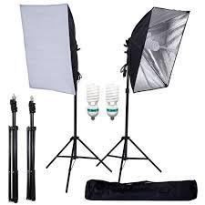 700w photography softbox lighting kit photo equipment soft studio light kit 27 x 20
