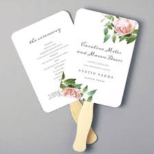 shocking of wedding fan template adornpixels for diy program kits inspiration and popular diy wedding program