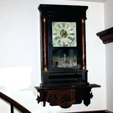 seth thomas wall clock antique schoolhouse wall clock regulator working short drop antique seth thomas schoolhouse seth thomas wall clock