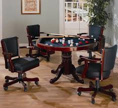 Game Table And Chairs Set Coaster Mitchell 3 In 1 Game Table Coaster Fine Furniture