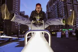 Light Up Loudoun Reviews Impulse Light Display In Crystal City Features Seesaw Art
