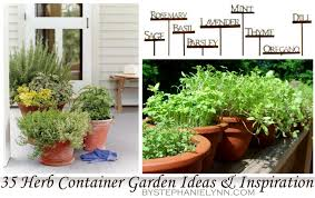 Small Picture Herb Garden Inspiration Ideas Over 50 Pots Planters and